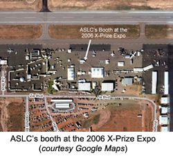 Google Earth image of 2006 X-Prize Expo